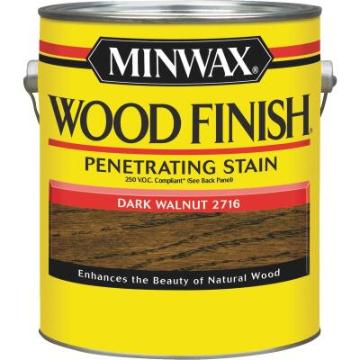 Minwax Wood Finish VOC Penetrating Stain, Dark Walnut, 1 Gal.