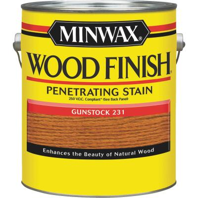 Minwax Wood Finish VOC Penetrating Stain, Gunstock, 1 Gal.