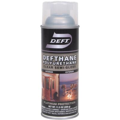 Deft Defthane Semi-Gloss Clear Spray Polyurethane, 11.5 Oz.