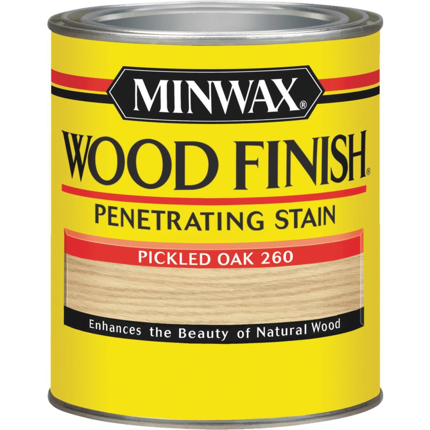 Minwax Wood Finish Penetrating Stain, Pickled Oak, 1 Qt. Image 1