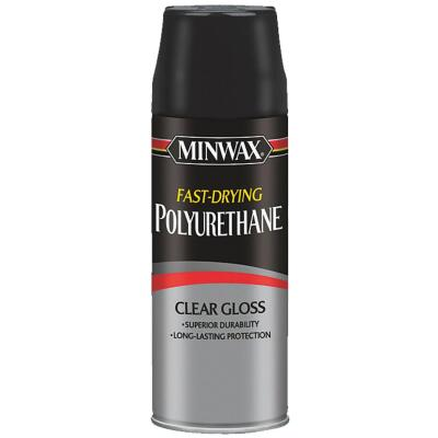 Minwax Gloss Clear Spray Polyurethane, 11.5 Oz.