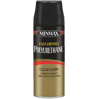 Minwax Satin Clear Spray Polyurethane, 11.5 Oz.