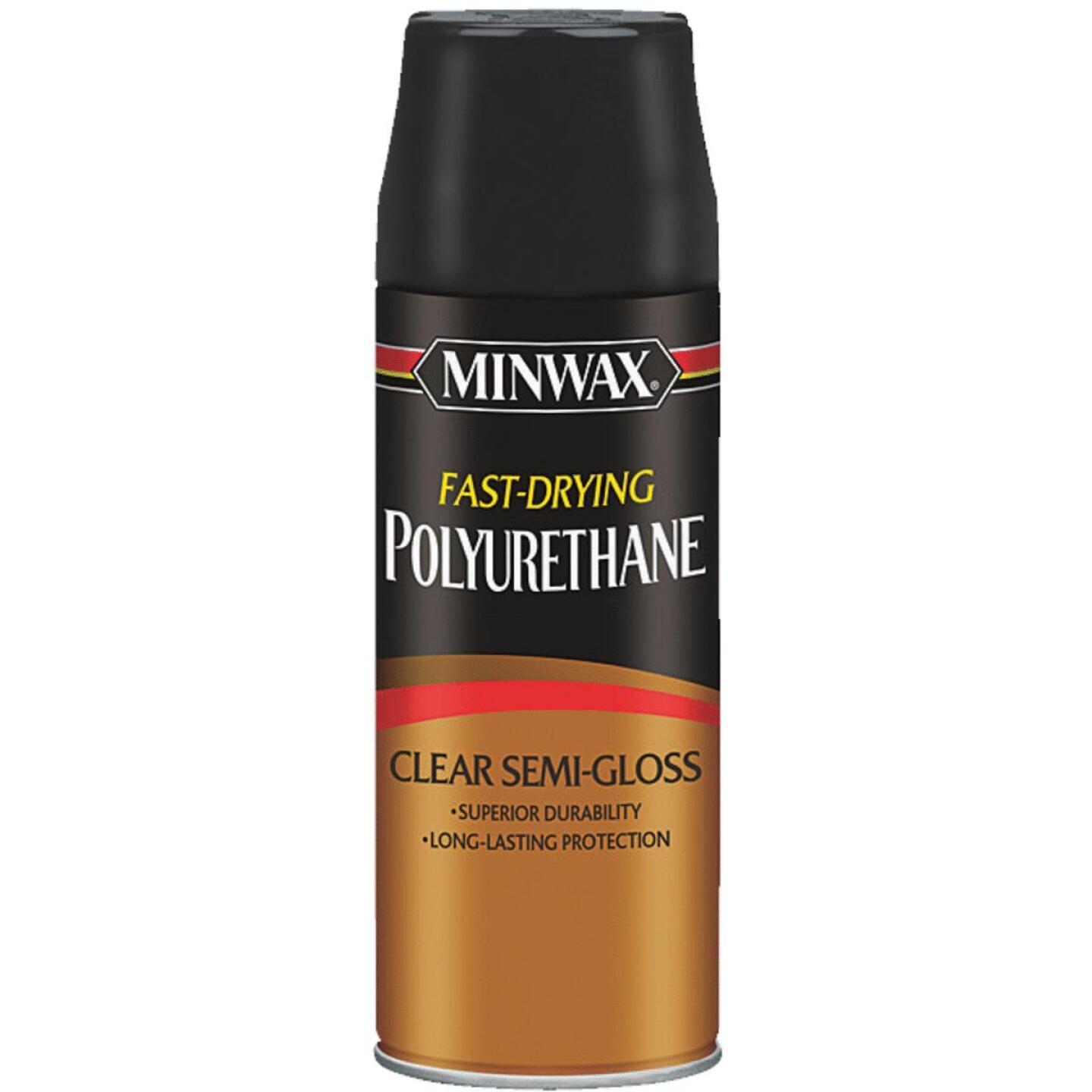 Minwax Semi-Gloss Clear Spray Polyurethane, 11.5 Oz. Image 1
