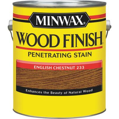 Minwax Wood Finish Penetrating Stain, English Chestnut, 1 Gal.