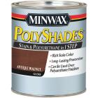 Minwax Polyshades 1 Qt. Gloss 275 VOC Stain & Polyurethane In 1-Step, Antique Walnut Image 1