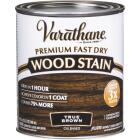 Varathane Fast Dry True Brown Urethane Modified Alkyd Interior Wood Stain, 1/2 Pt. Image 1