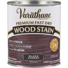 Varathane Fast Dry Black Cherry Urethane Modified Alkyd Interior Wood Stain, 1 Qt. Image 1