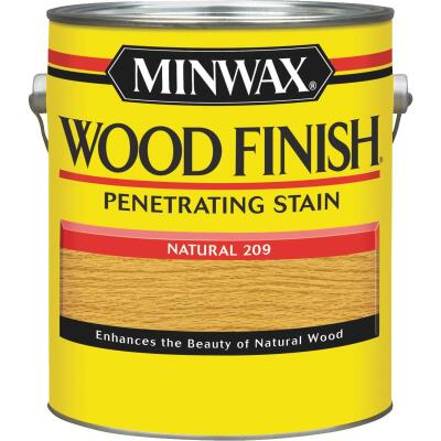 Minwax Wood Finish Penetrating Stain, Natural, 1 Gal.