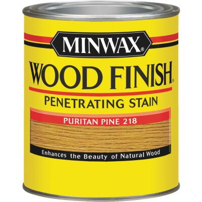 Minwax Wood Finish Penetrating Stain, Puritan Pine, 1 Qt.