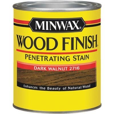 Minwax Wood Finish Penetrating Stain, Dark Walnut, 1 Qt.