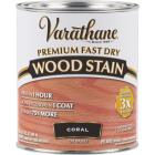 Varathane Fast Dry Coral Wood Urethane Modified Alkyd Interior Wood Stain, 1 Qt. Image 1