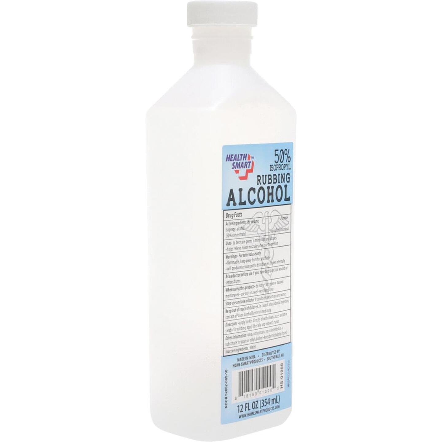 Health Smart 12 Oz. Rubbing Alcohol Image 1