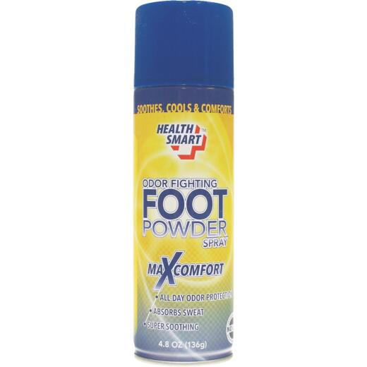 Health Smart 4.8 Oz. Odor Fighting Foot Powder Spray