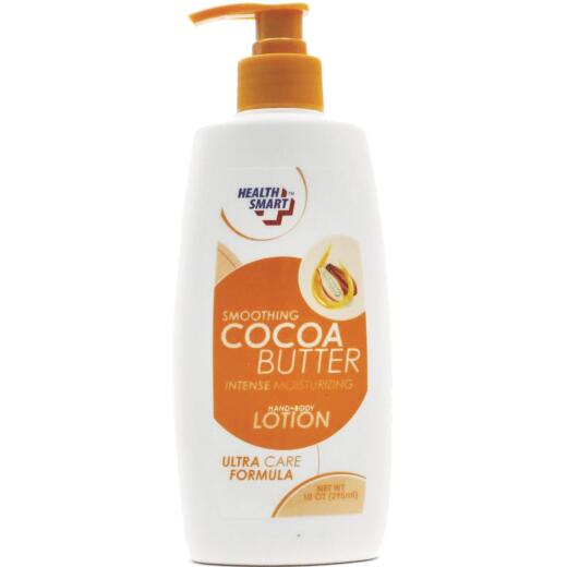 Health Smart 10 Oz. Pump Cocoa Butter Hand & Body Lotion
