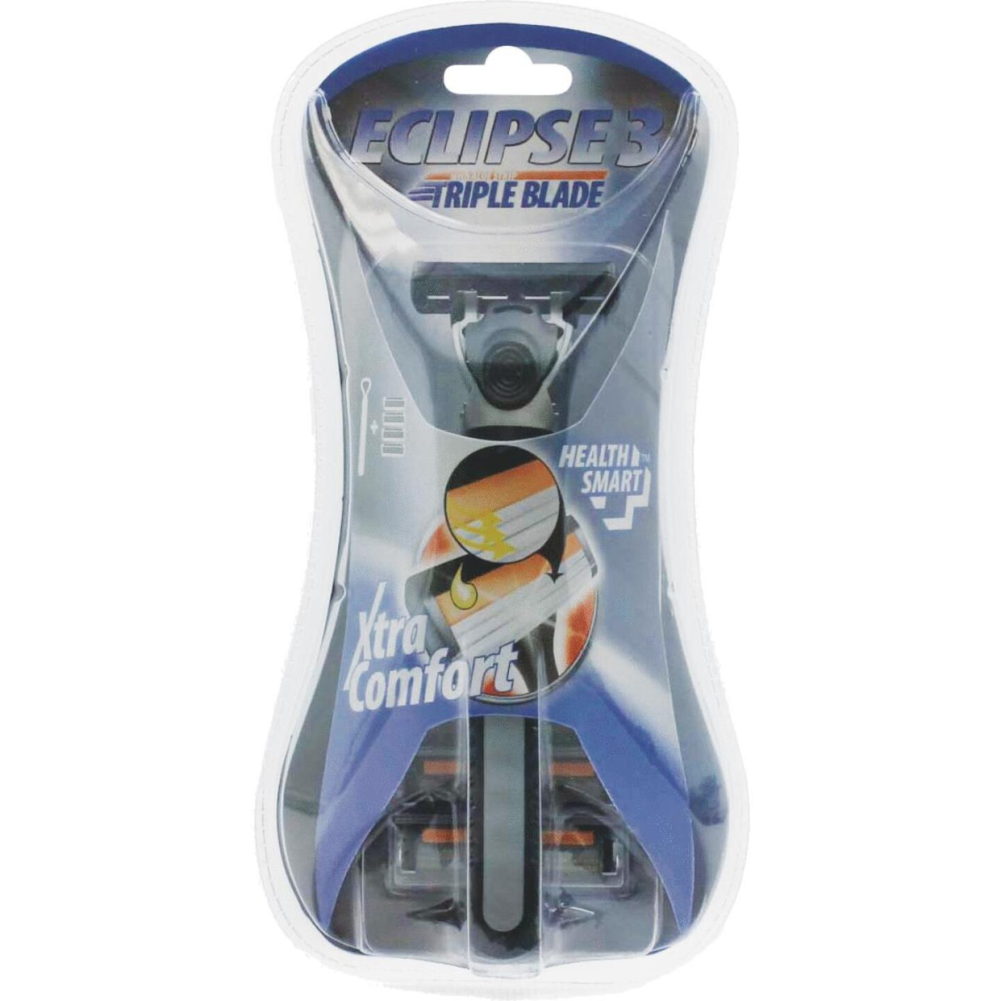 Health Smart Mens 3 Blade Razors (4-Pack) Image 1