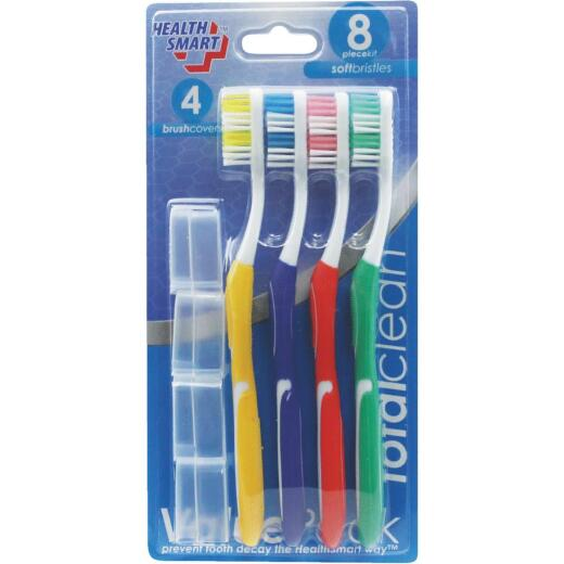 Health Smart Value Pack Soft Toothbrush Kit